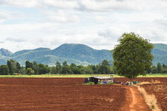 Casa da quinta rural Imagem de Stock