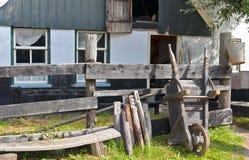 Casa da quinta rural tradicional Imagens de Stock