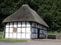 Casa da quinta velha Foto de Stock Royalty Free