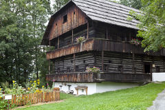 Casa da quinta velha Imagem de Stock