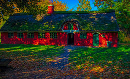 Casa da quinta velha Fotografia de Stock Royalty Free