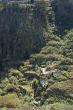 Casa da quinta velha em Firgas, Gran Canaria Imagens de Stock