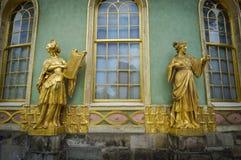 Casa da tè cinese nel parco di Sanssouci. Potsdam, Germania. Immagine Stock Libera da Diritti