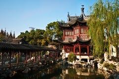 Casa da tè del cinese tradizionale Fotografia Stock Libera da Diritti