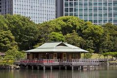 Casa da tè di Nakajima immagini stock