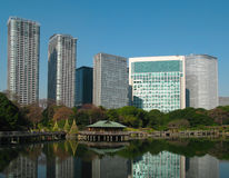 Casa da tè di Nakajima, Tokyo, Giappone Immagini Stock Libere da Diritti