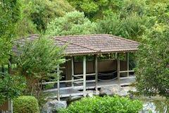 Casa da tè giapponese Fotografie Stock Libere da Diritti