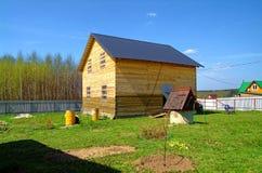 Casa da una barra nella zona rurale Immagini Stock Libere da Diritti