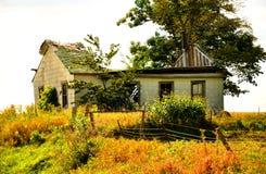 Casa da velha escola Foto de Stock Royalty Free