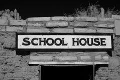 Casa da velha escola Fotografia de Stock