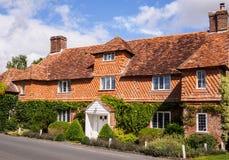 Casa da vila do país em Inglaterra fotografia de stock royalty free