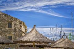 Casa Dalmatian velha Foto de Stock Royalty Free