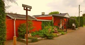 Casa danese tradizionale Fotografie Stock
