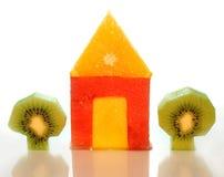 Casa das frutas Imagem de Stock Royalty Free