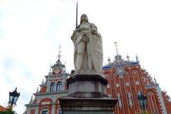 Casa das pústulas em Riga, Letónia fotografia de stock royalty free