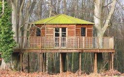 Casa de árvore luxuosa Imagens de Stock Royalty Free