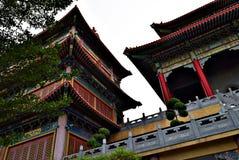 Casa de ídolo chino en Bangkok Imágenes de archivo libres de regalías