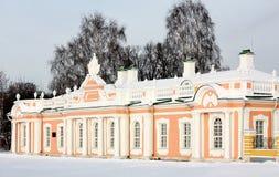 Casa de ônibus e o secador em Kuskovo e Foto de Stock