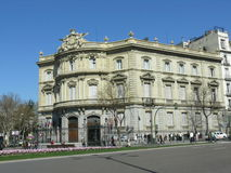 Casa de Αμερική στη Μαδρίτη Στοκ Φωτογραφίες