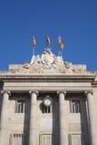 Casa de Λα Ciutat ή Δημαρχείο της Βαρκελώνης Στοκ φωτογραφία με δικαίωμα ελεύθερης χρήσης