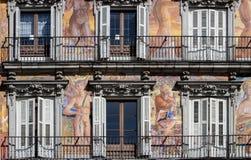 Casa de Λα PanaderÃa στο δήμαρχο Plaza στη Μαδρίτη Στοκ φωτογραφίες με δικαίωμα ελεύθερης χρήσης