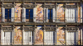 Casa de Λα Panaderia, δήμαρχος Plaza, Μαδρίτη, Ισπανία Στοκ φωτογραφία με δικαίωμα ελεύθερης χρήσης