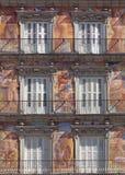 Casa de Λα Panaderia στο δήμαρχο Plaza στη Μαδρίτη, Ισπανία Στοκ Φωτογραφία