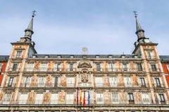 Casa de Λα Panaderia στο δήμαρχο Plaza στη Μαδρίτη Στοκ φωτογραφία με δικαίωμα ελεύθερης χρήσης