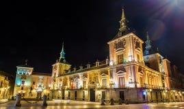 Casa de Λα Villa της Μαδρίτης, Ισπανία Χρησιμεύει ως η αίθουσα πόλεων Στοκ Φωτογραφίες