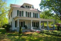 Casa de 1910 brancos Imagens de Stock Royalty Free