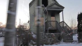 Casa de Abandonded en Westside del ` s de Chicago