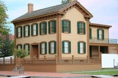 Casa de Abe Lincoln Foto de archivo
