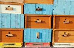 Casa de abeja a estrenar Foto de archivo libre de regalías