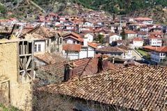 Casa de adôbe abandonada em Tarakli que é um distrito histórico na província de Sakarya Imagem de Stock