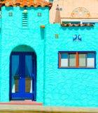Casa de Adobe Imagem de Stock Royalty Free