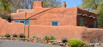 Casa de adobe histórica Fotos de archivo