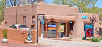 Casa de adobe histórica Imagenes de archivo