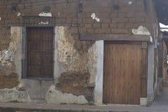 Casa de adobe vieja Imagen de archivo