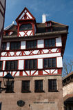 Casa de Albrecht Durer Fotos de archivo libres de regalías
