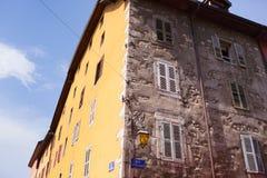 Casa de Annecy fotos de stock