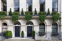 Casa de Apartament en Londres imágenes de archivo libres de regalías