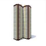 Casa de apartamento Imagem de Stock Royalty Free