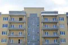 Casa de apartamento Imagens de Stock