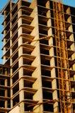 Casa de apartamento construída do painel Fotografia de Stock