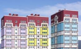 Casa de apartamento moderna Foto de archivo libre de regalías