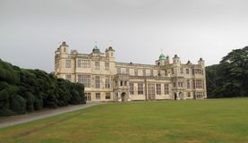 Casa de Audley, Essex, Inglaterra Fotos de Stock