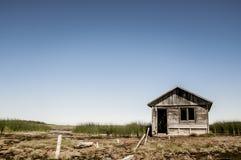 Casa de baños abandonada Foto de archivo libre de regalías
