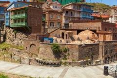Casa de baños en Tbilisi, Georgia Imagen de archivo libre de regalías