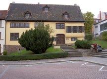 Casa de Bach em Eisenach Fotos de Stock Royalty Free
