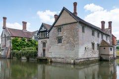 Casa de Baddesley Clinton Fotos de Stock Royalty Free